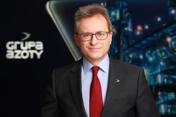Wojciech Wardacki wskazuje kluczowe cele dla Grupy Azoty