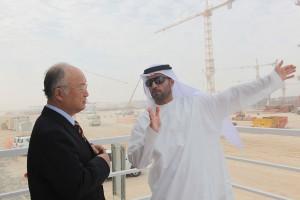 Emiraty arabskie ukończyły pierwszy z czterech reaktorów