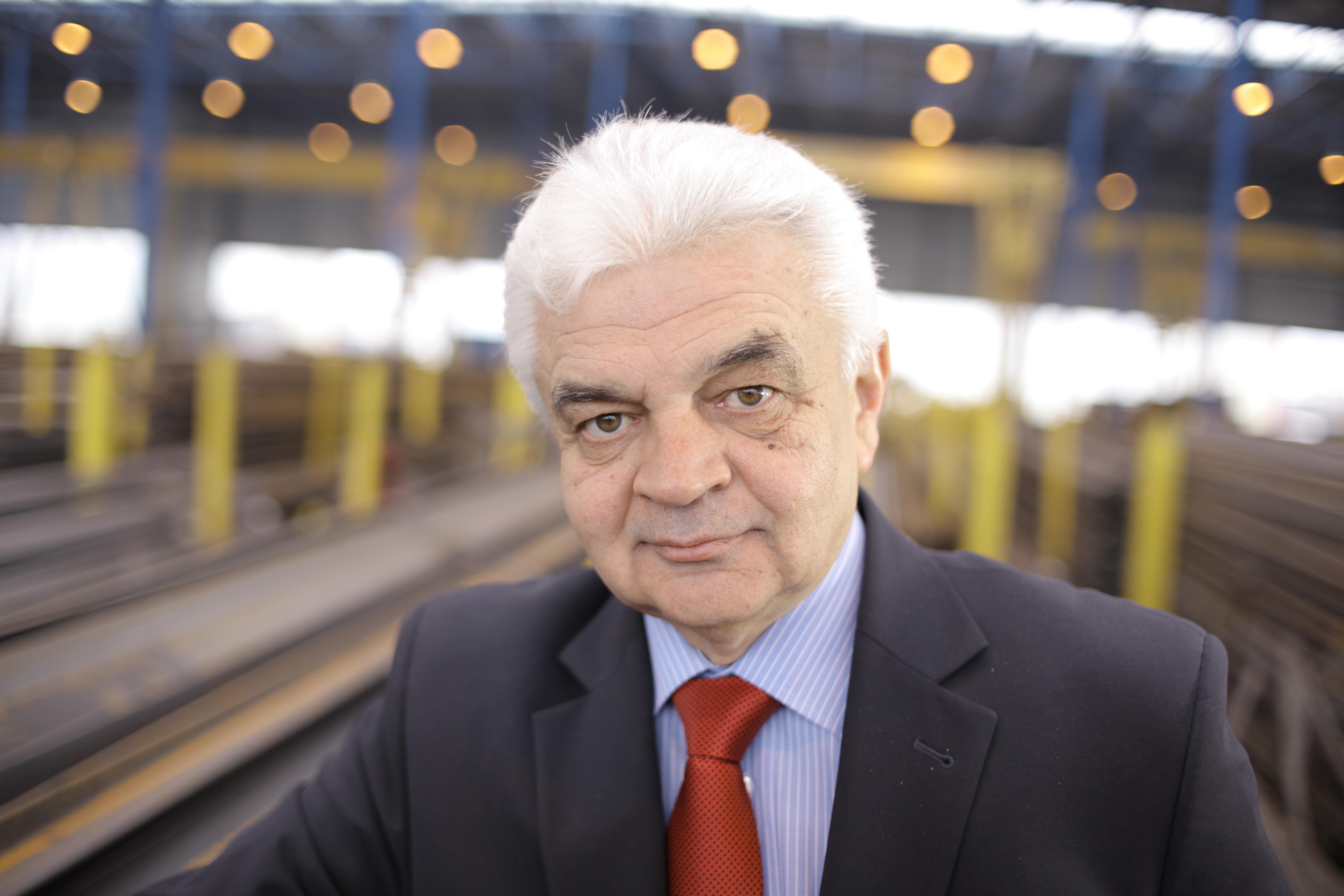 Jerzy Bernhard, prezes Stalprofilu. Fot. AW (PTWP)