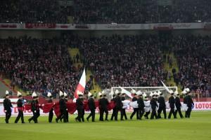 Górnicze mundury przyniosły Biało-Czerwonym szczęście na Stadionie Śląskim