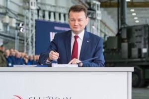 """Mariusz Błaszczak: Polska jest gotowa na udział finansowy w """"Fort Trump"""""""