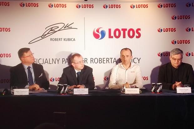 Lotos: Robert Kubica to dobra inwestycja