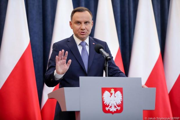 """Prezydent chce szybkich prac nad """"piątką Morawieckiego"""""""