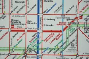 Końcowe formalności dla wschodniego-północnego odcinka metra