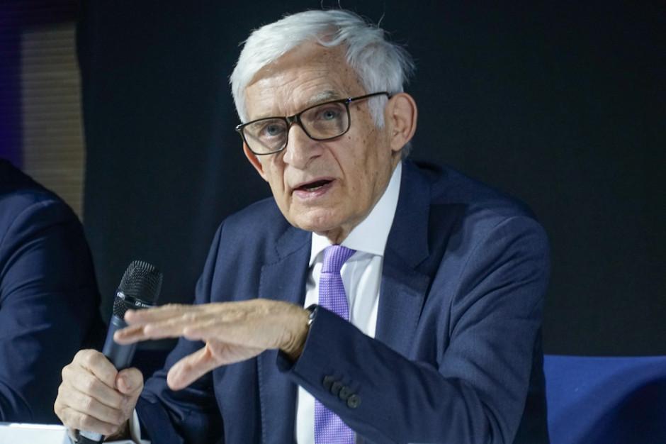 Jerzy Buzek. fot. PTWP (Michał Oleksy)