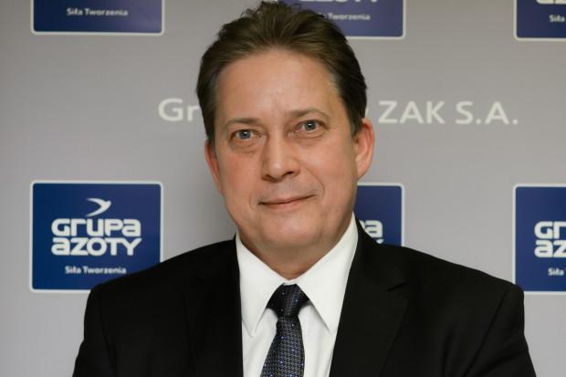 Sławomir Lipkowski prezesem Zakładów Azotowych Kędzierzyn