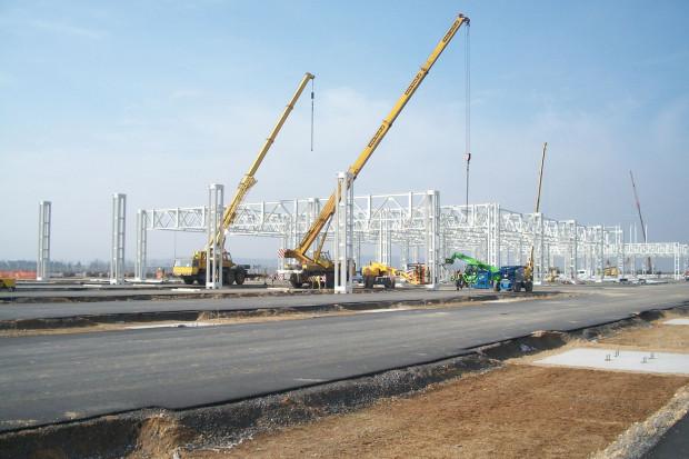 Fabryka Mercedesa w Jaworze: ruszył kolejny etap budowy