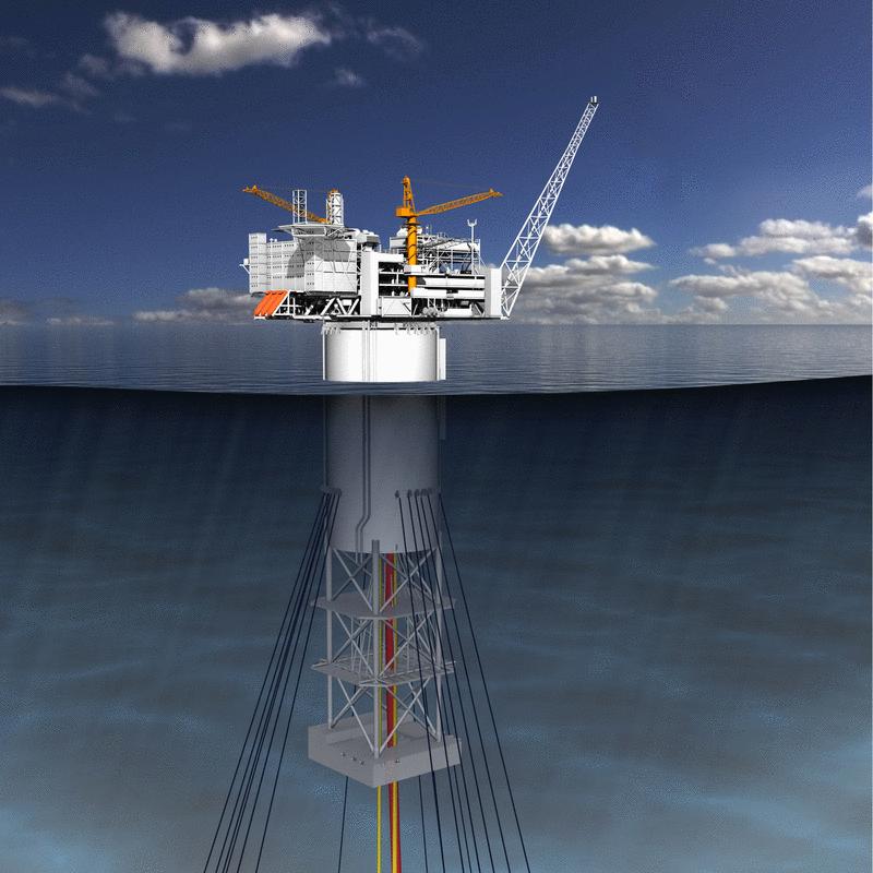Nadbudowa platformy waży 24 tys. ton. Fot. mat. Statoil