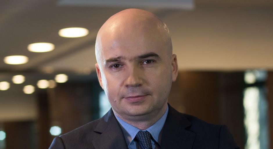 Przemysław Janiszewski, p.o. prezesa Polimeksu-Mostostalu. fot. mat. pras.