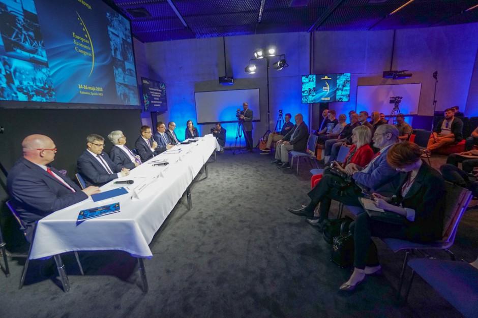 Zdjęcie numer 1 - galeria: Konferencja prasowa zapowiadająca Europejski Kongres Gospodarczy 2018