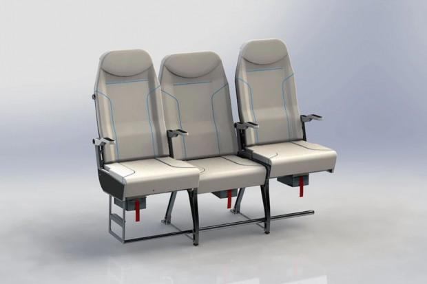 Środkowy fotel może stać się bardzo popularny w samolotach