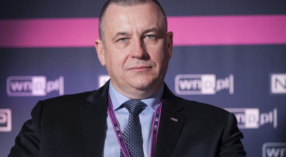 Henryk Baranowski, prezes PGE. fot. PTWP