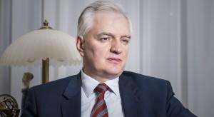 Jarosław Gowin: trzeba unikać fałszywego wyścigu na obietnice przedwyborcze