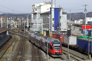 Zderzenie dwóch pociągów na dworcu w Salzburgu. Są ranni