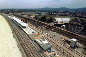 Ważny etap wartej ćwierć miliarda złotych inwestycji kolejowej zakończony