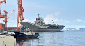 Chiński lotniskowiec rozpoczął testy na morzu