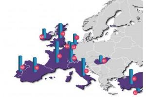 Ta mapa udowadnia, w jakim miejscu jest Polska. Pytanie, czy chcemy być akurat po tej stronie