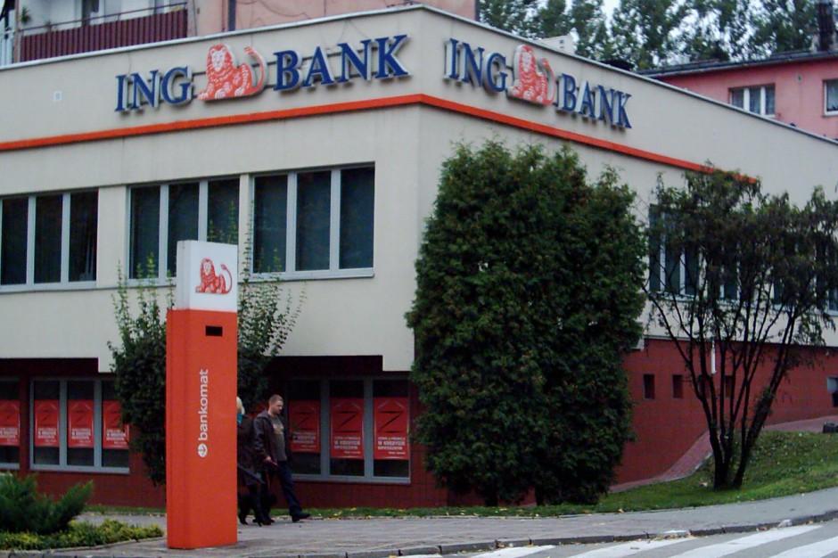 ING to bank komercyjny z siedzibą w Katowicach przy ul. Sokolskiej 34, na zdjęciu oddział banku w Wodzisławiu Śląskim, źródło: wikimedia.org/CC BY-SA 2.5