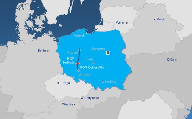 Lokalizacja dwóch najnowszych MOP-ów Lotosu przy drodze S5. Fot. mat. prasowe