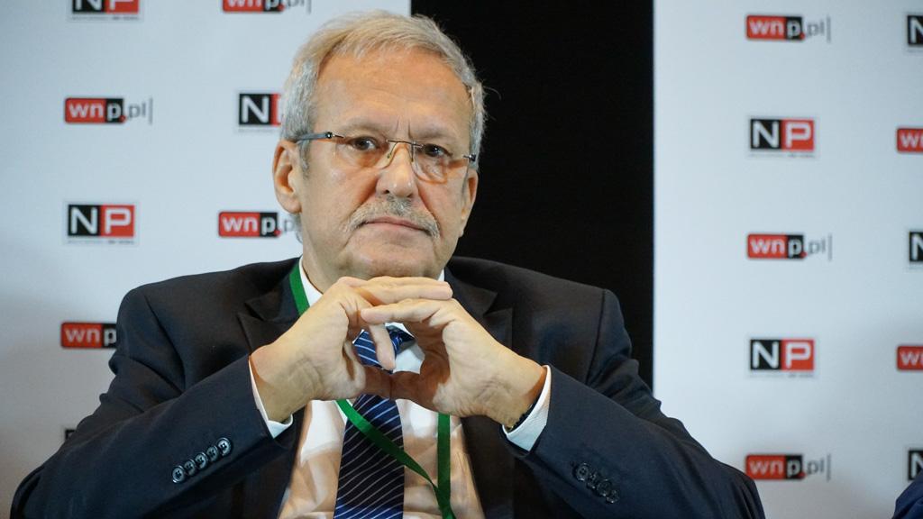 Janusz Steinhoff wskazuje, że trzeba się wziąć za poprawę organizacji pracy w górnictwie. Fot Michał Oleksy/PTWP