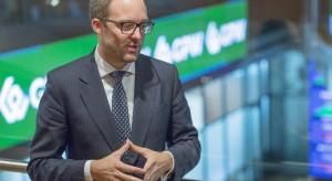 Prezes warszawskiej giełdy tłumaczy spadki zysku i przychodów