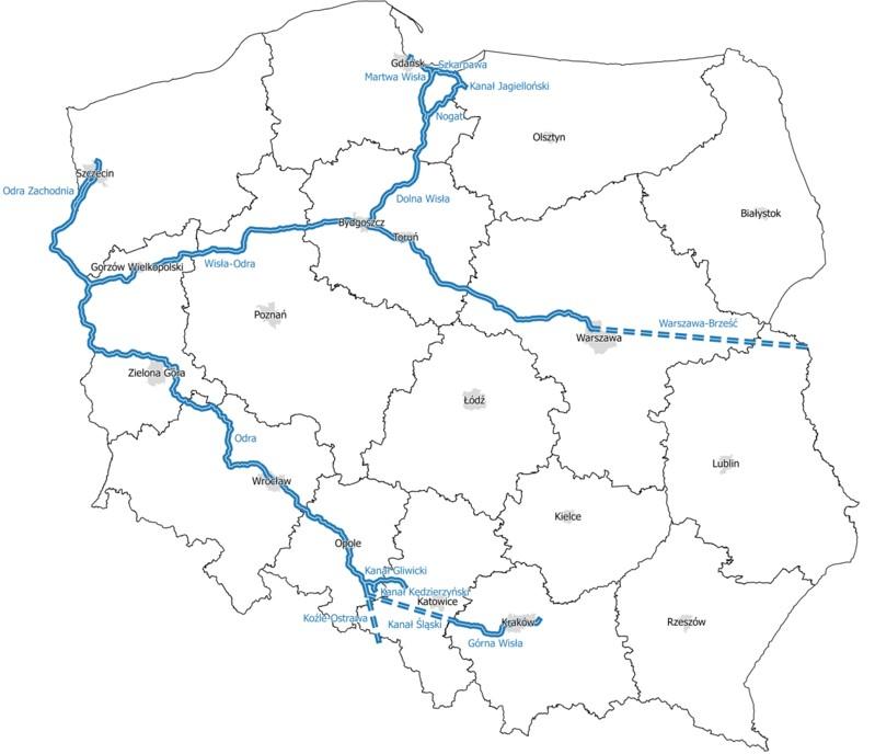 Podpisując konwencję AGN, Polska zobowiązała się dostosować najważniejsze drogi wodne do klas międzynarodowych. Fot. MGMiŻŚ