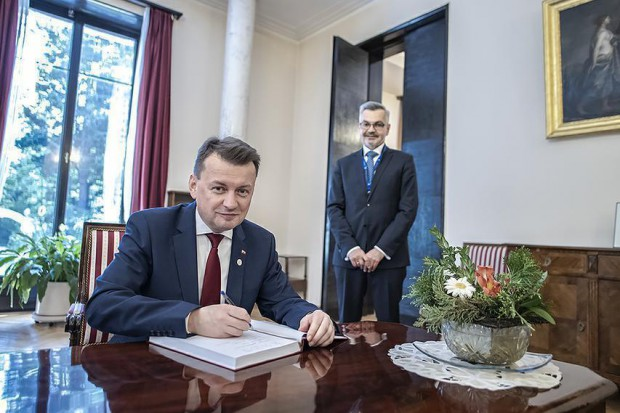 Spotkanie ministrów obrony UE. Mariusz Błaszczak szukał możliwości dla naszego przemysłu