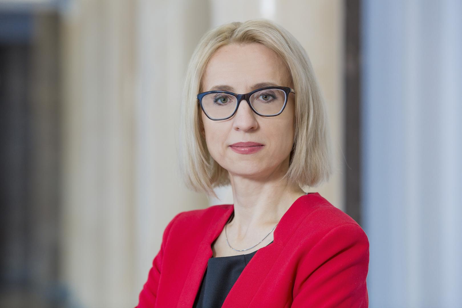 Teresa Czerwińska, minister finansów. Fot. mat. pras.