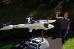 Uber prezentuje latającą takówkę