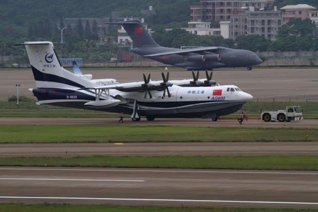 AVIC AG600 z Chin w 2022 roku trafi do klientów