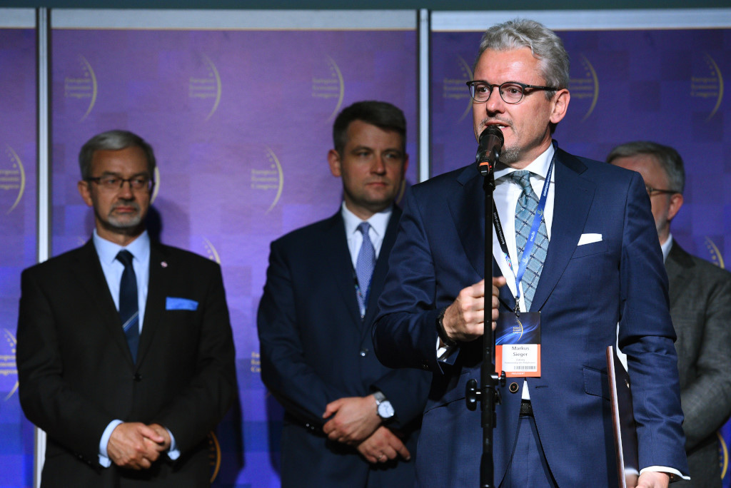 Markus Walter Sieger, prezes zarządu firmy Polpharma.