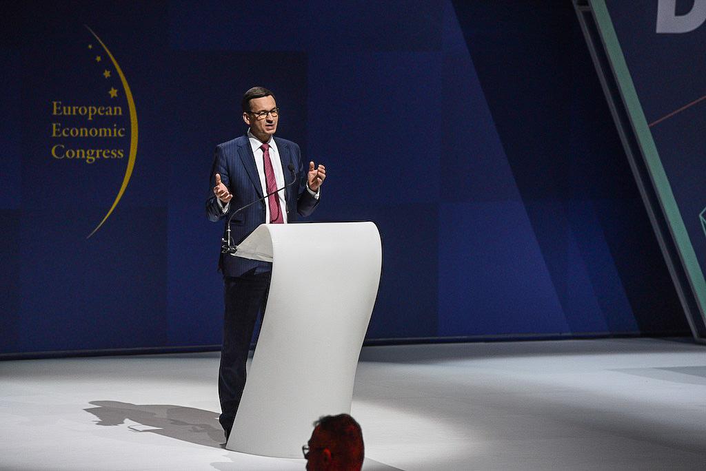Wierzę, że na tej sali siedzą przyszli zwycięzcy polskiej gospodarki - powiedział Mateusz Morawiecki na Europejskim Kongresie Gospodarczym (fot. PTWP)