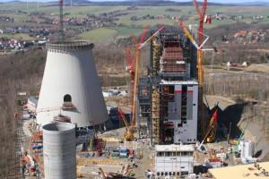Budowa nowych bloków w Elektrowni Opole zaawansowana w 91 proc.