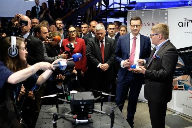 Premier Mateusz Morawiecki na European Start-up Days.