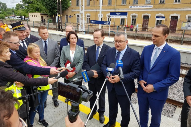 Andrzej Adamczyk: rozwój infrastruktury kolejowej to priorytet rządu