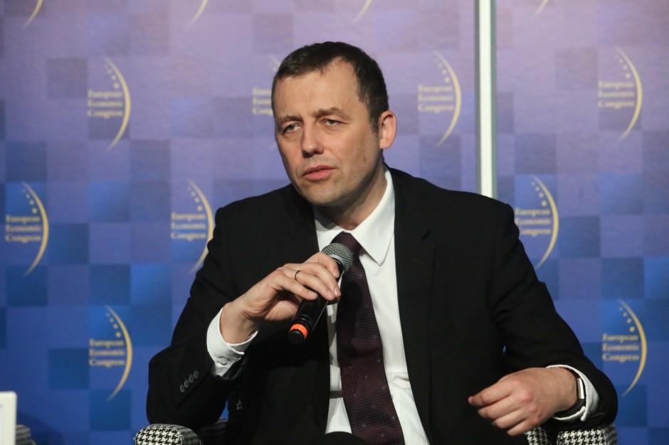 Mikołaj Wild, wiceminister infrastruktury, pełnomocnik rządu ds. Centralnego Portu Komunikacyjnego dla RP