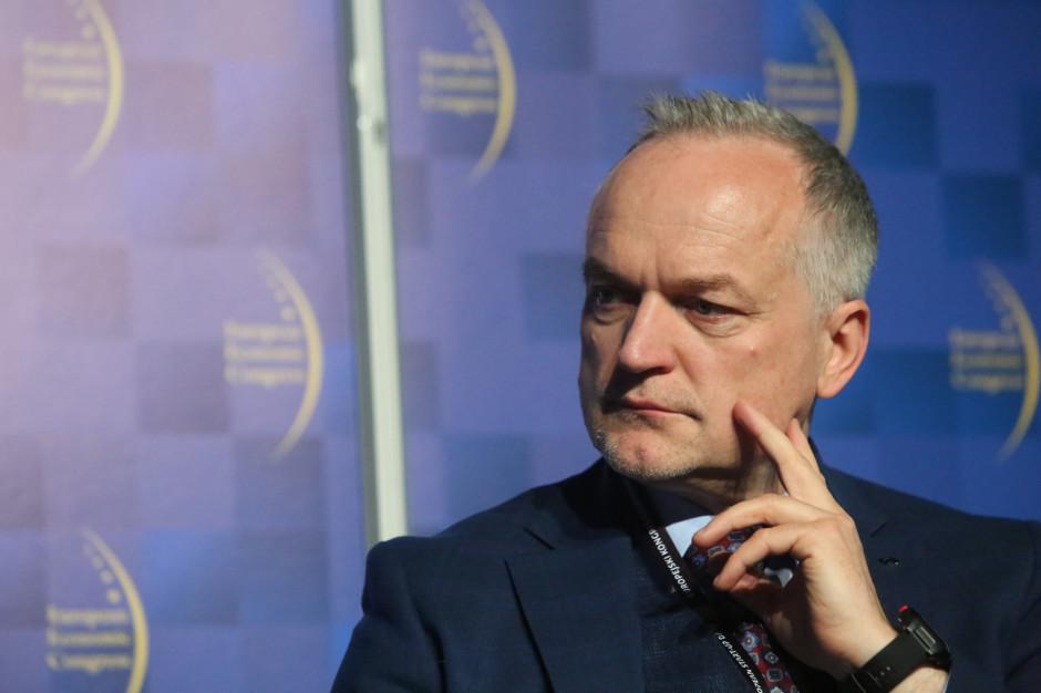 Czesław Warsewicz, prezes zarządu PKP Cargo.