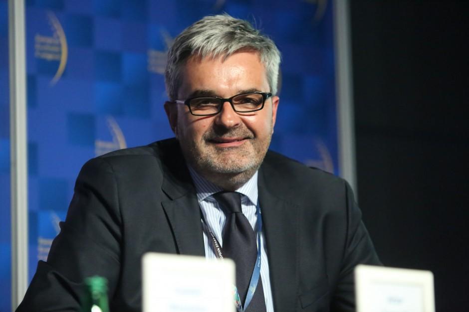 Artur Tomasik, prezes zarządu Związku Regionalnych Portów Lotniczych oraz prezes zarządu Górnośląskie Towarzystwo Lotnicze, zarządcy Katowice Airport.