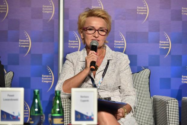 Barbara Cyganik, dyrektor Centrum Korporacyjnego Banku Ochrony Środowiska w Katowicach. Fot. PTWP