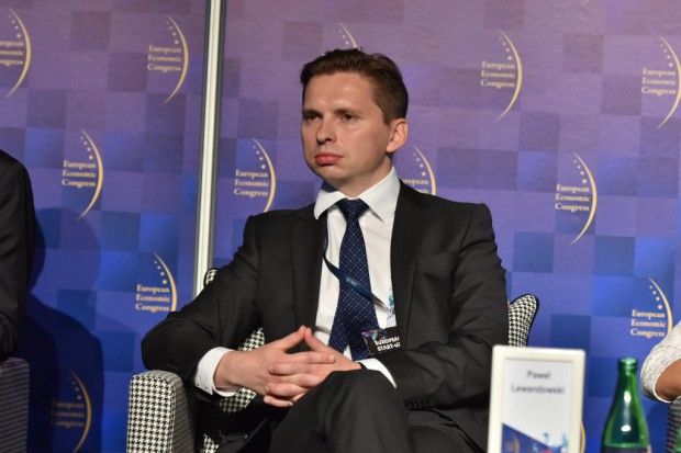 Paweł Lewandowski, Structured Finance North, Central and South East Europe, Europejski Bank Inwestycyjny. Fot. PTWP