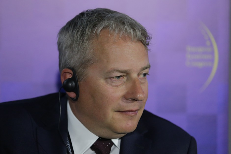 Wojciech Saługa, marszałek woj. śląskiego (fot.PTWP)