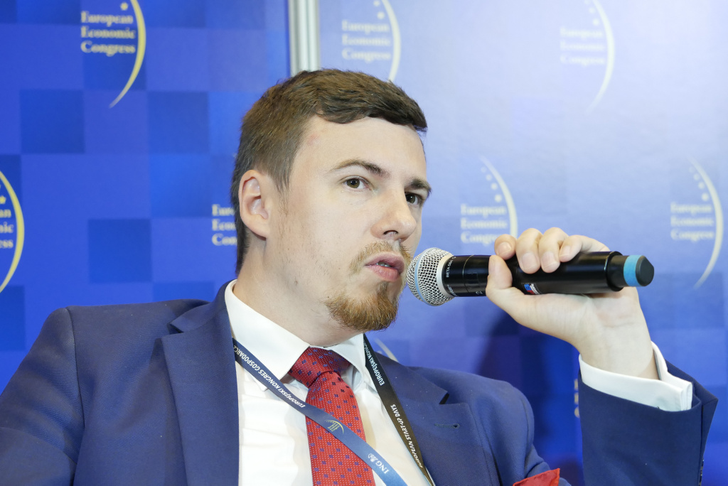 Robert Nowicki, zastępca dyrektora, Departament Innowacji, Ministerstwo Przedsiębiorczości i Technologii. Fot. PTWP.