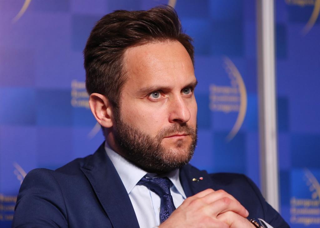Zbigniew Leszczyński wskazywał, że narodowe czempiony otwierają też możliwości zagranicznej ekspansji małym i średnim firmom. Fot. PTWP