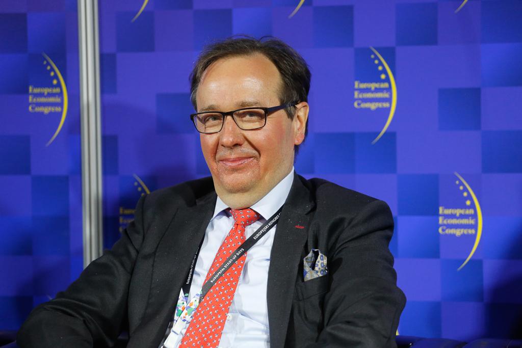 Piotr Olendski, członek zarządu Deutsche Bank Polska, fot. PTWP