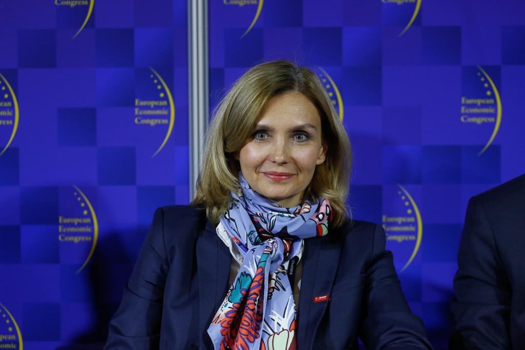 Katarzyna Byczkowska, prezes BASF Polska, fot. PTWP