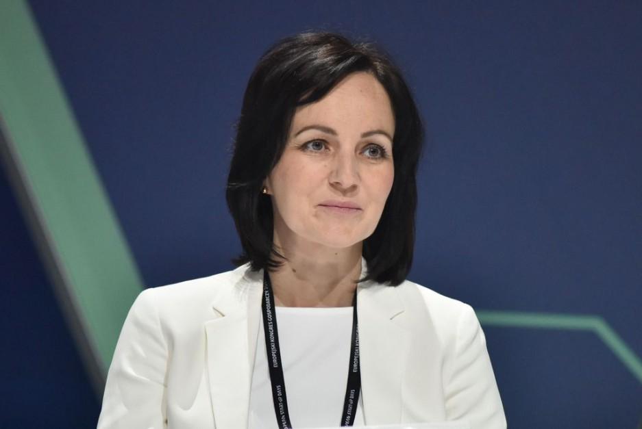 Joanna Erdman, wiceprezes ING Banku Śląskiego. Fot. PTWP