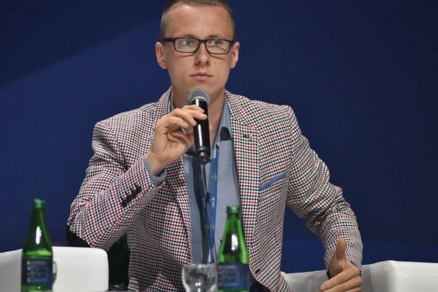 Wiktor Warchałowski, prezes startupu Airly. Fot. PTWP
