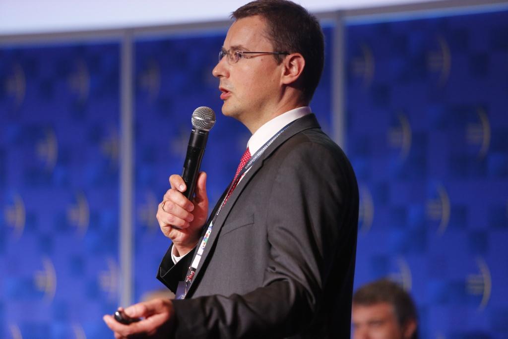 Zbigniew Liptak, EY, moderator. Fot. PTWP