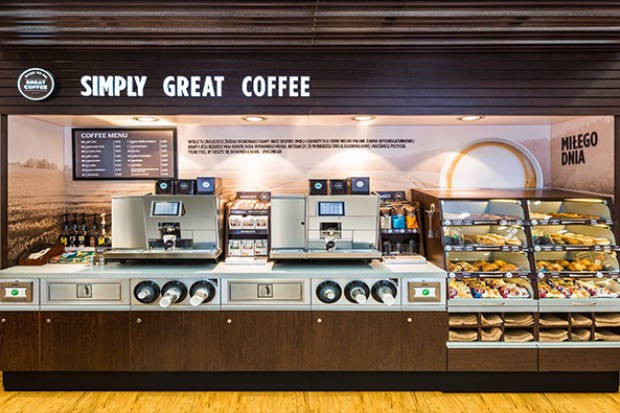 Coraz więcej kawiarenek i piekarni na stacjach Circle K