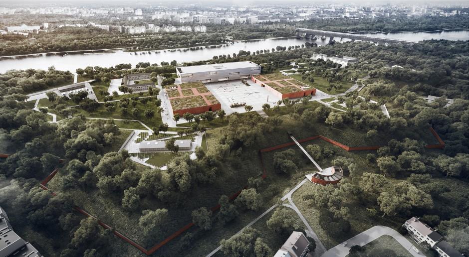 Wizualizacja kompleksu muzeów na terenie Cytadeli Warszawskiej. fot. WXCA